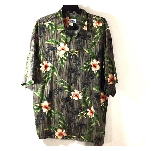 3220a15f reyn spooner Shirts | Hawaiian Short Sleeve Shirt Xxl | Poshmark